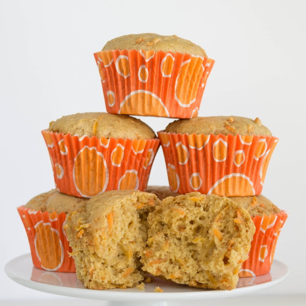 Are Your Kids Not Eating Breakfast? Then Try These Healthy Carrot Muffins Recipe For Kids