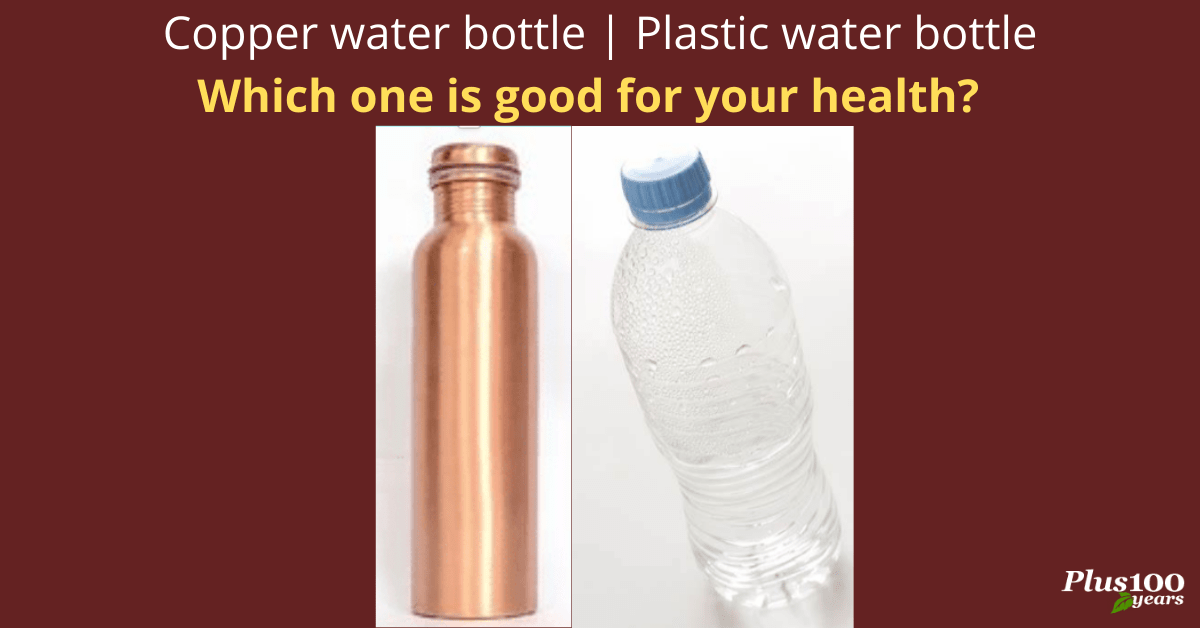 Copper Water Bottle | Plastic Water Bottle - Which One Is Good For Your Health?