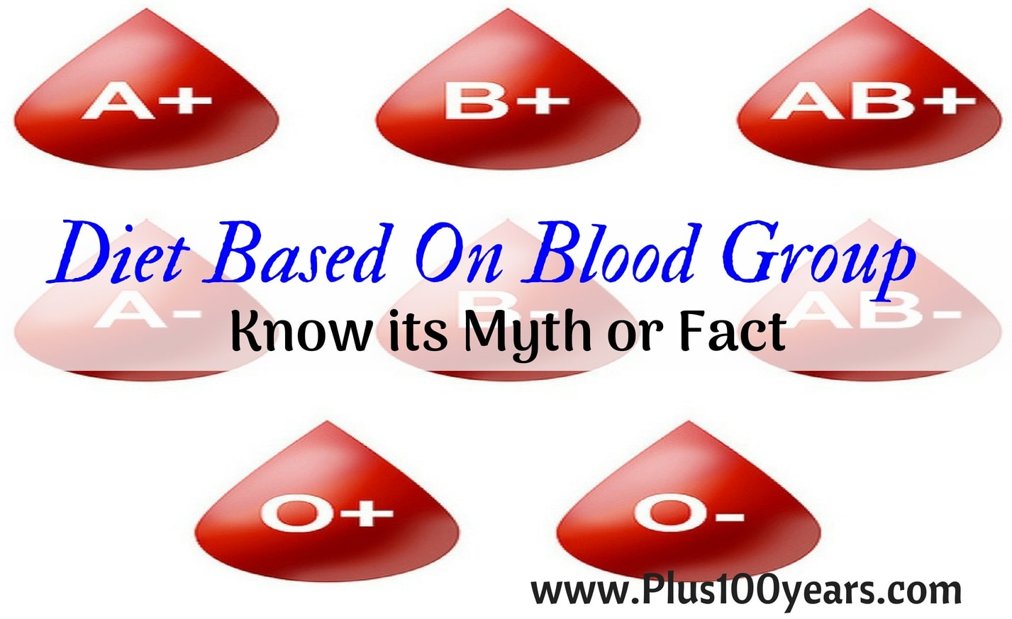 Diet Based On Blood Group - Know its Myth or Fact