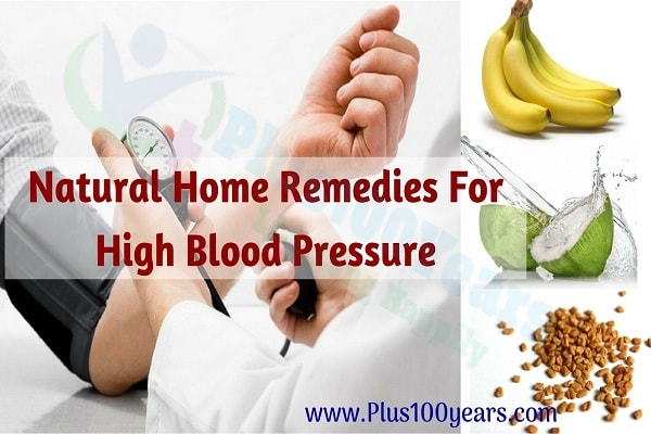 Amazing 8 Natural Home Remedies For High Blood Pressure
