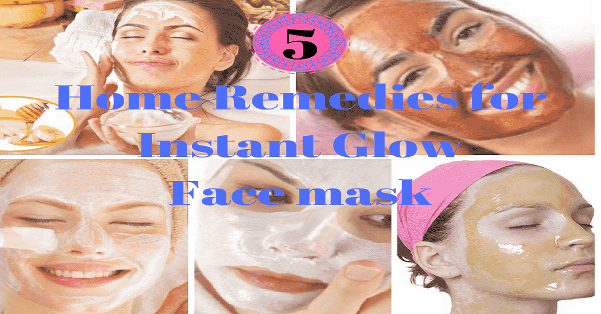 Home Remedies for Instant Glow - Herbal Face Packs That Will Do Wonders To Your Skin