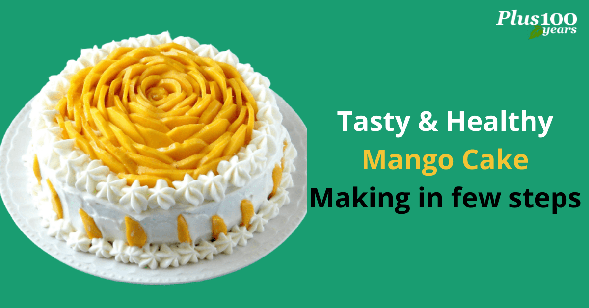 How to make a healthy mango cake at home
