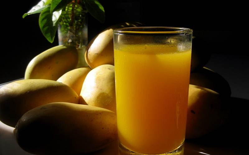 How to Make Yummy Mango Juice Recipe - A Healthy & Energy Drink