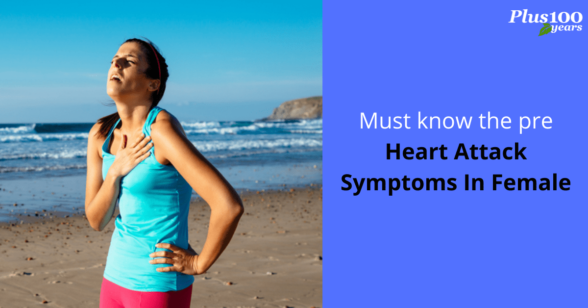 How to recognize pre heart attack symptoms in female?