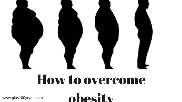 how to overcome obesity