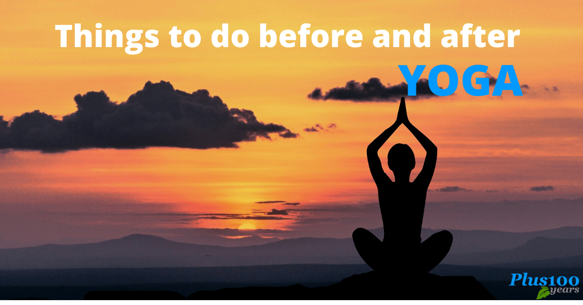 Things To Before And After Yoga