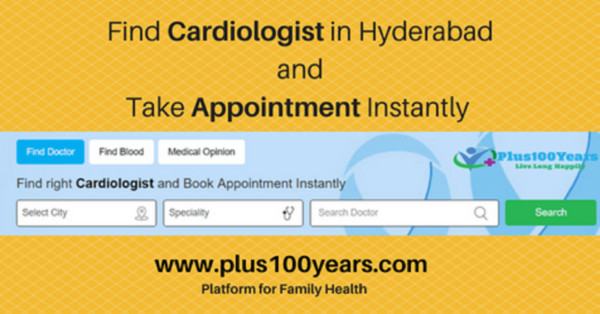 Plus100years is a Platform for Schedule Doctor Appointment