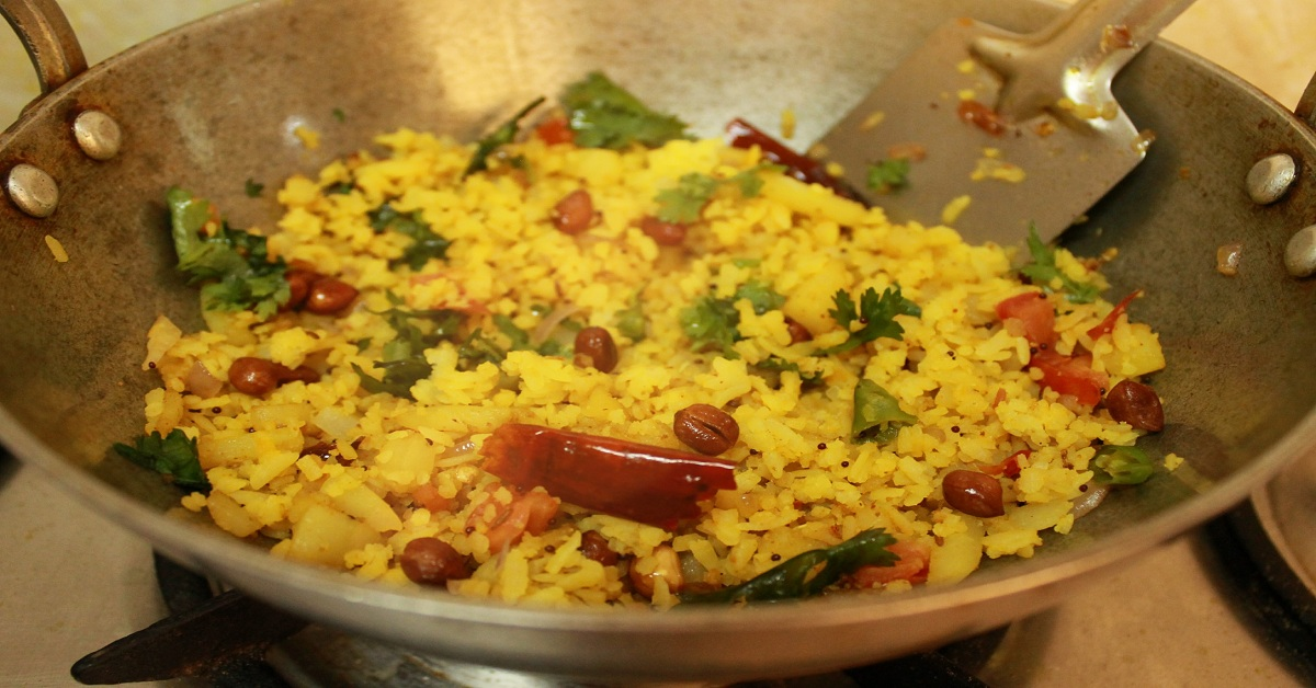 How to Make Aloo Poha Recipe - Very Healthy and Easy to Make