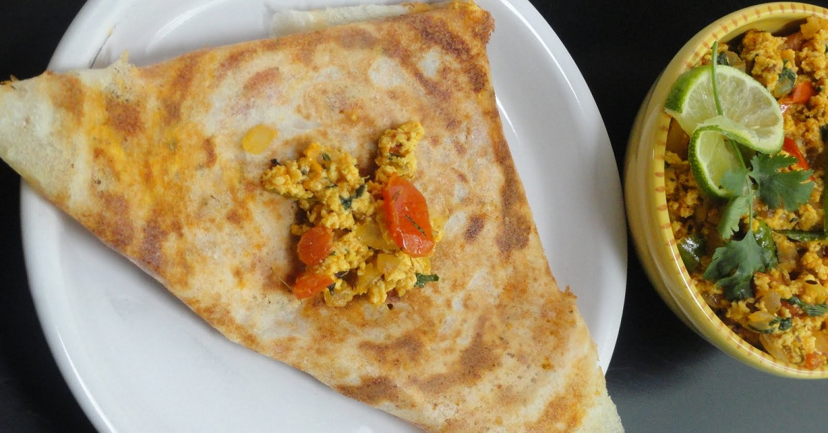 How to Make Paneer Dosa Recipe - Healthy and Delicious