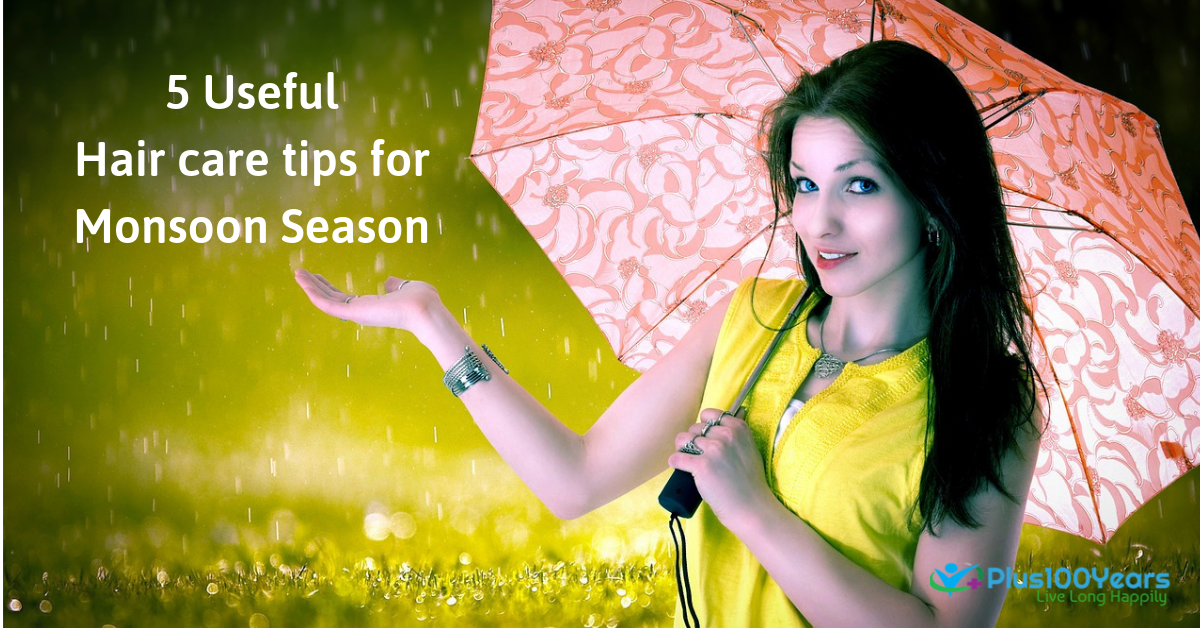 5 Useful Hair care Tips for Monsoon Season