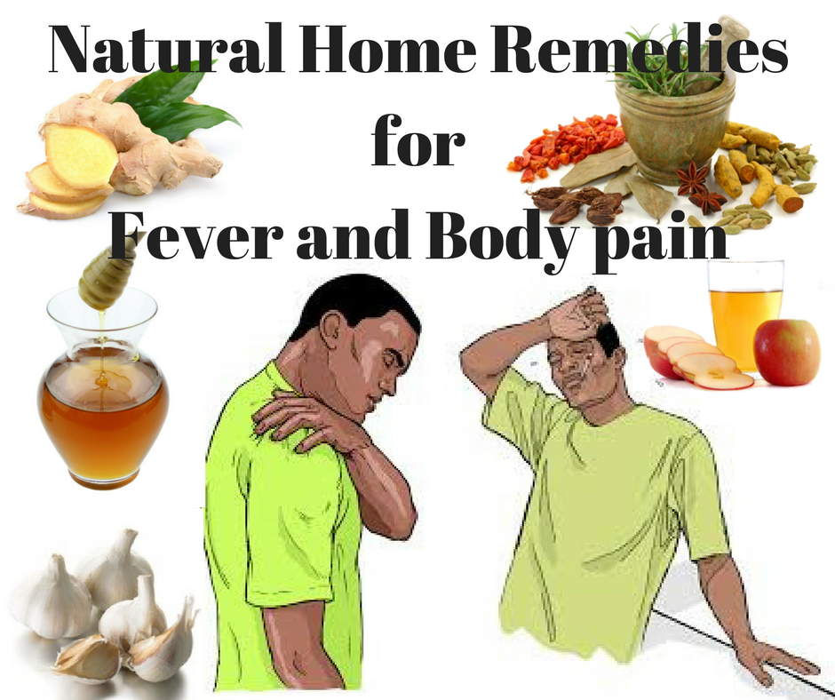 Natural Home Remedies for Fever and Body Pain