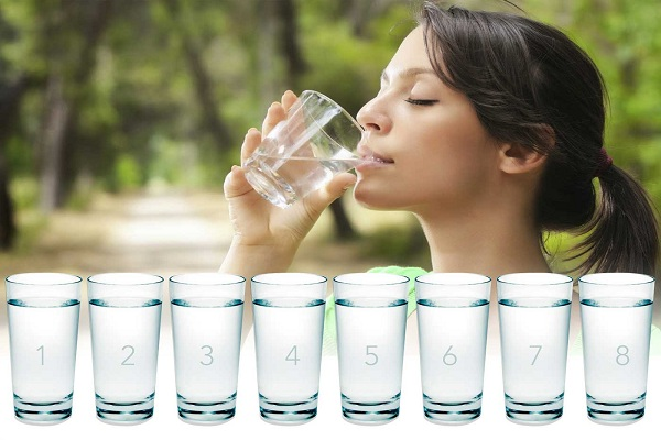Drinking 8 glass of Water makes wonders