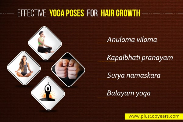 Effective Yoga Poses for Hair Growth