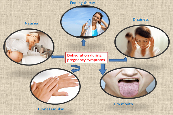 symptoms of dehydration during pregnancy || symptoms of dehydration during pregnancy