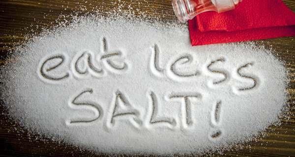 Eat less salt for good health