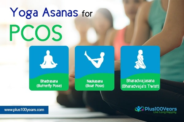 Yoga asanas for PCOS