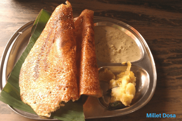 Healthy Millet Dosa || millet dosa reecipes