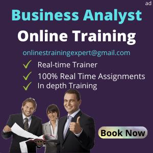 Business Analyst Online Training