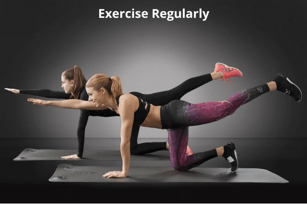 regular exercise reduces body pains