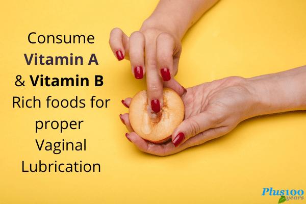 vitamins for vaginal lubrication
