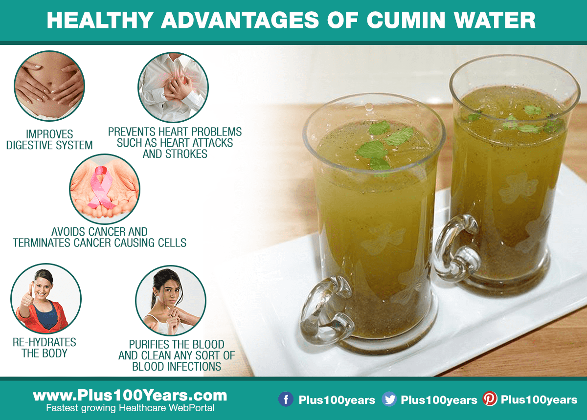 Healthy Advantages of Cumin Water