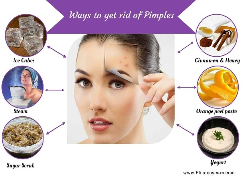 ways to get rid of pimples fast