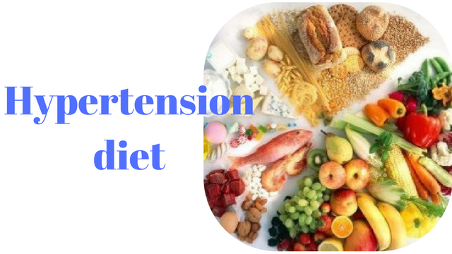 Hypertension diet