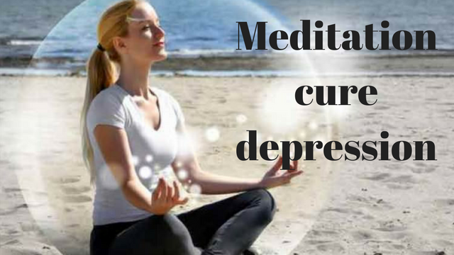 Meditation cure depression