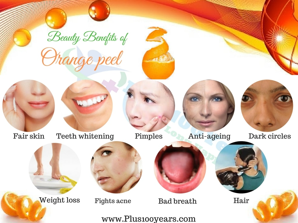 Beauty Benefits of Orange peel