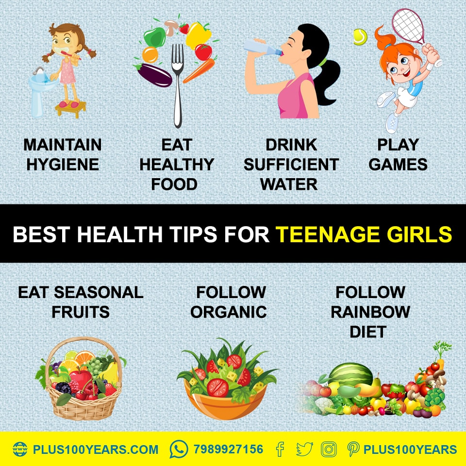 Best Health Tips for teenage girls