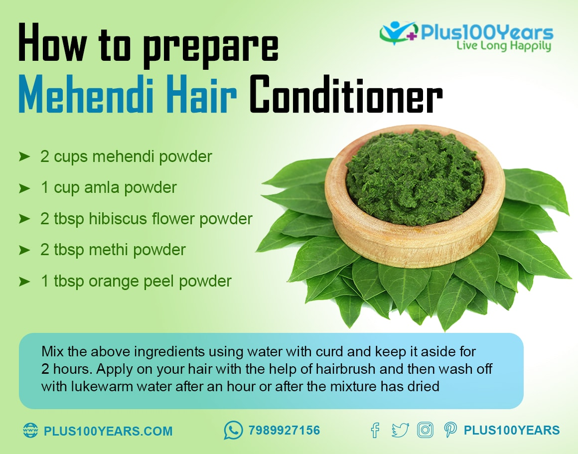 How to prepare Mehendi Hair Conditioner