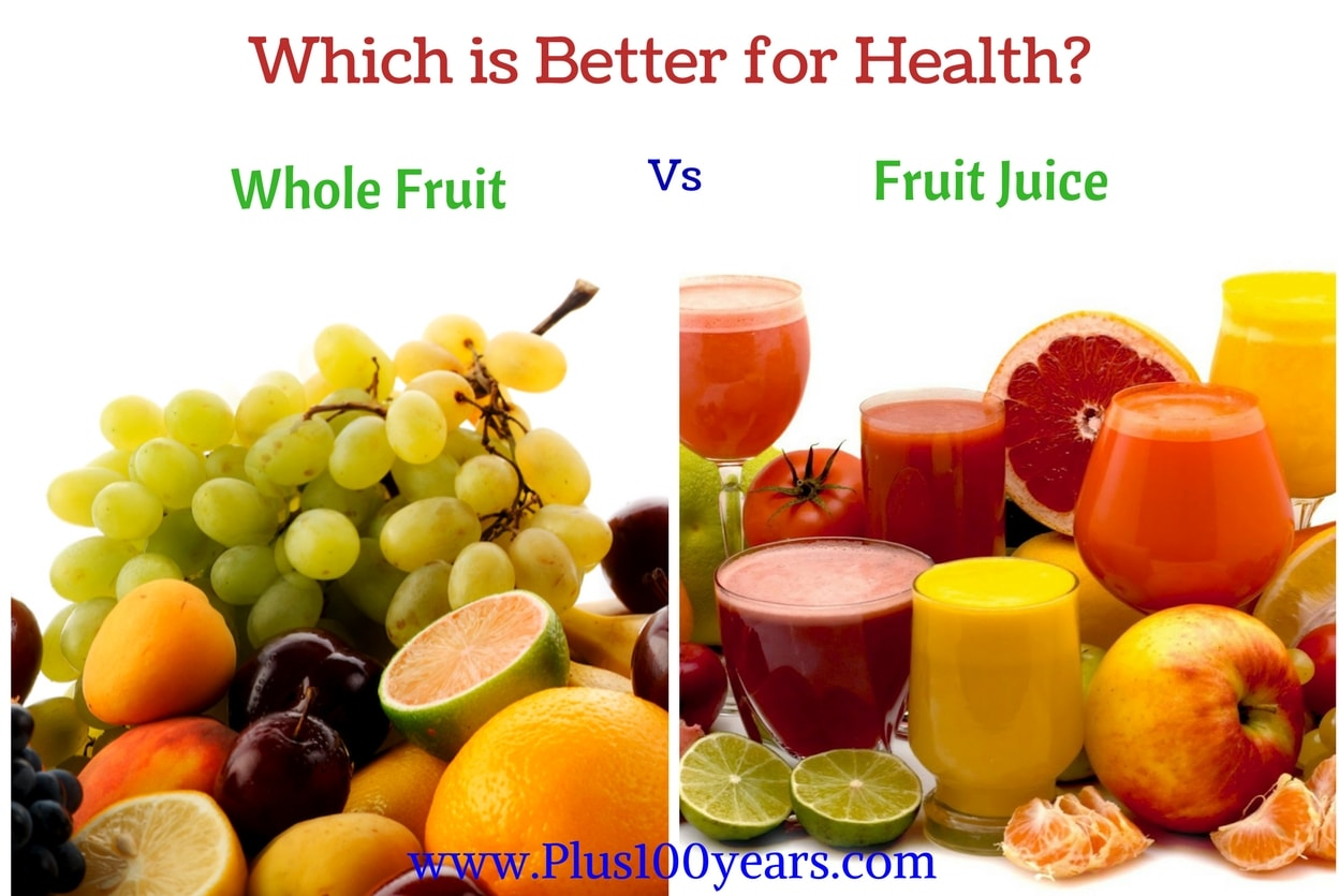 Which is better fruit or fruit juice