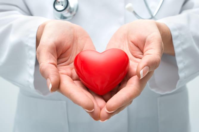 Heart transplant surgery