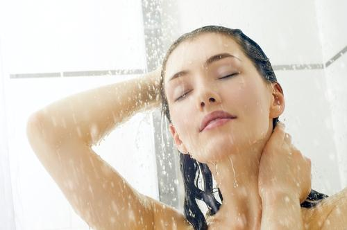 Cold water shower during summer is good for keeping the body cool