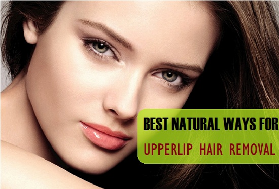 upper lip hair removal