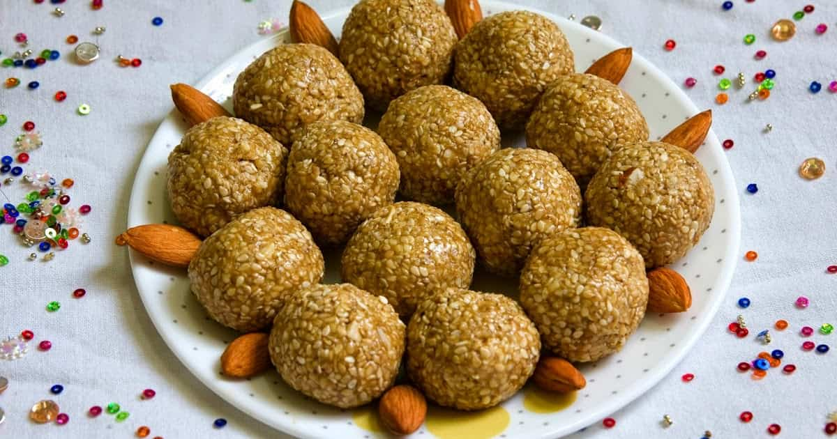 til laddu made with jaggery