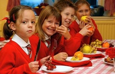 give healthy food