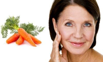 carrot helps to healthen the skin