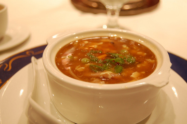 chinese hot soup