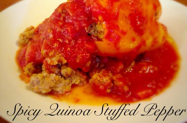 Turkey and Quinoa Stuffed Peppers Arthritis Friendly Recipe