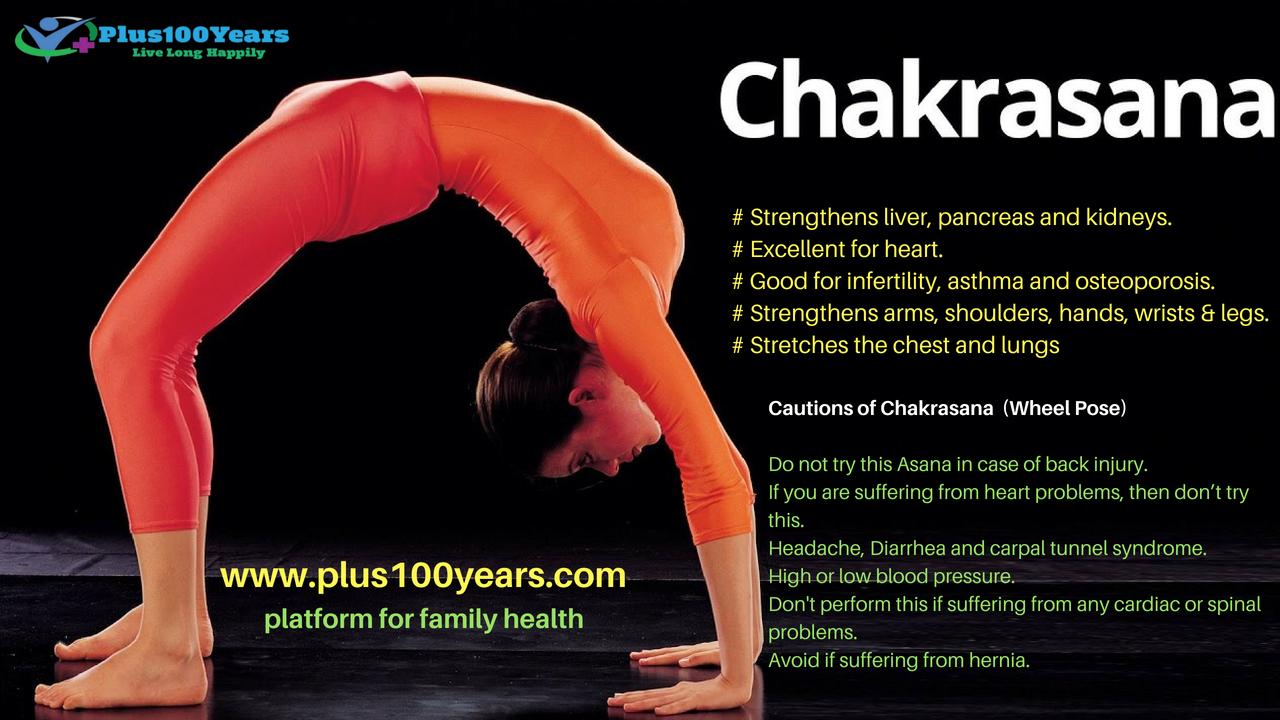 Health Benefits of Chakrasana