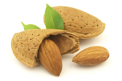Almonds increases the sexual desire & supports the fertility