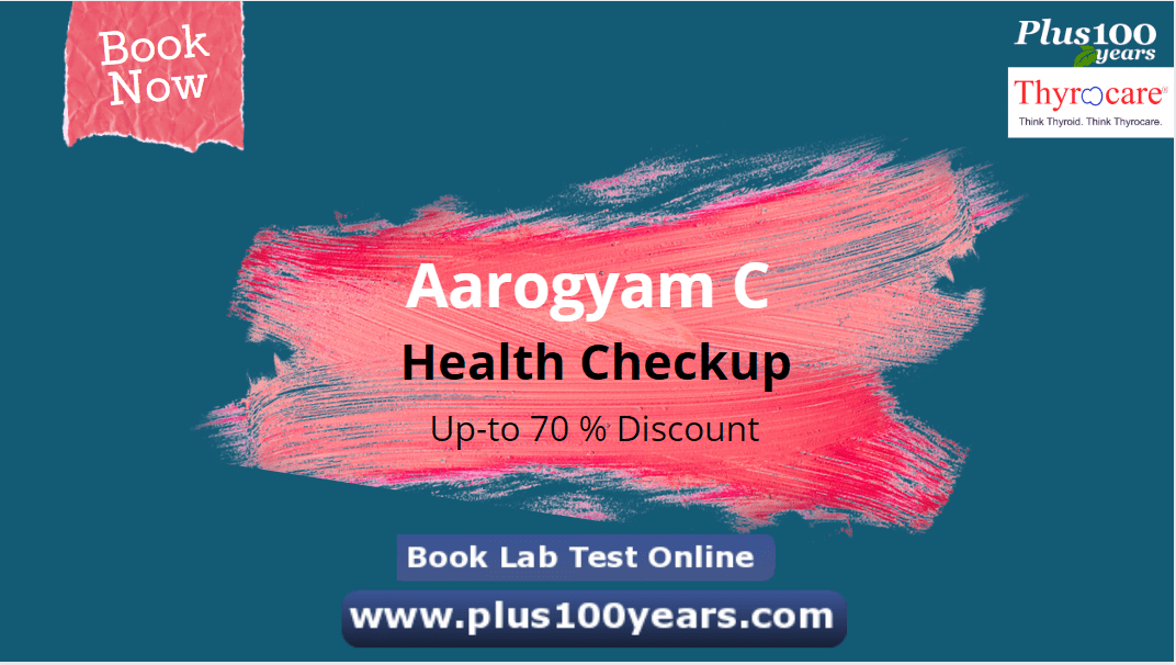 Thyrocare Aarogyam C Test with New Year 2021 Offer