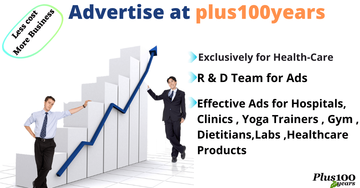 Advertise with us on plus100years.com