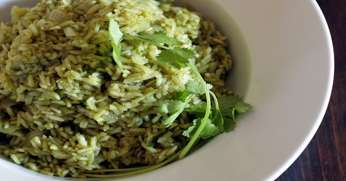 Easy Steps to Make Coriander Rice