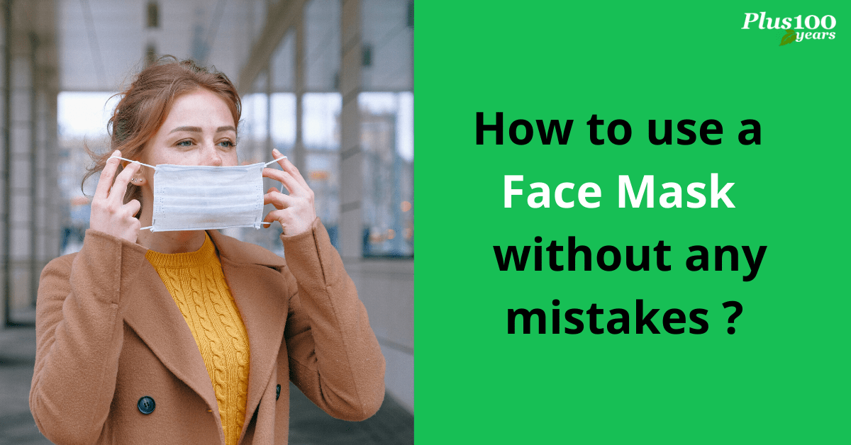 How to use a face mask?