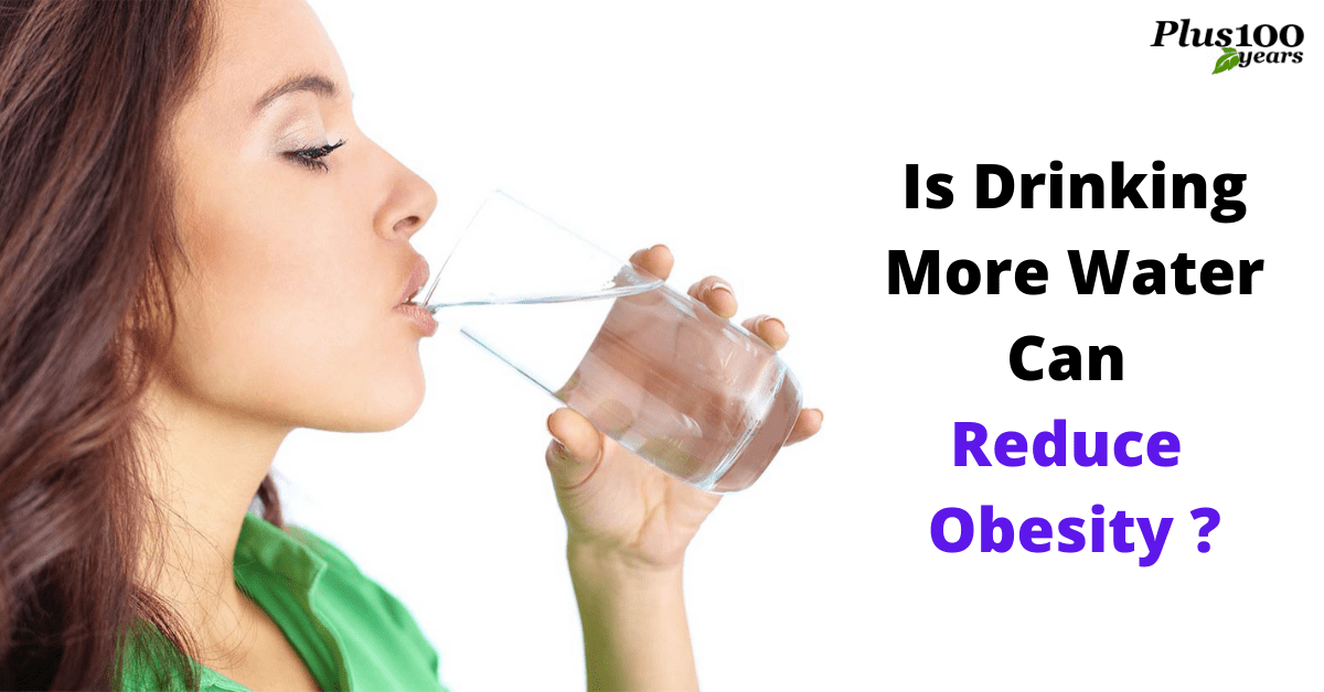 Is drinking more water can reduce obesity?