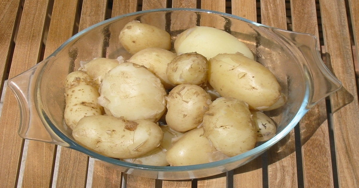 Be aware about the quantity of Calories in boiled potato