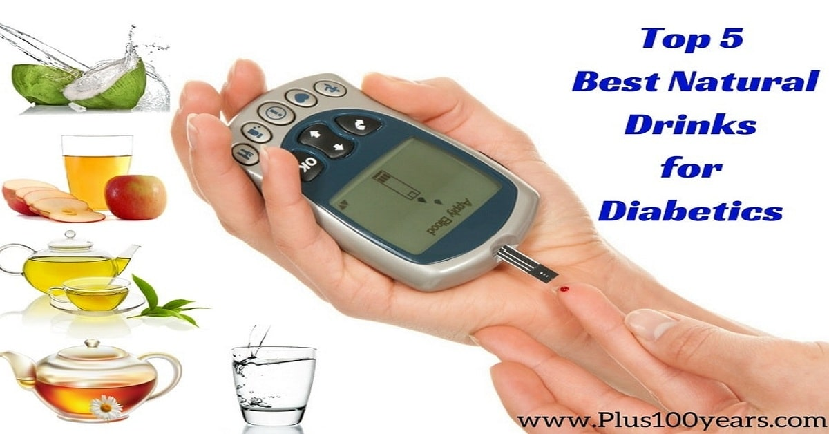Top 5 Best Natural Drinks for Diabetics for the summer