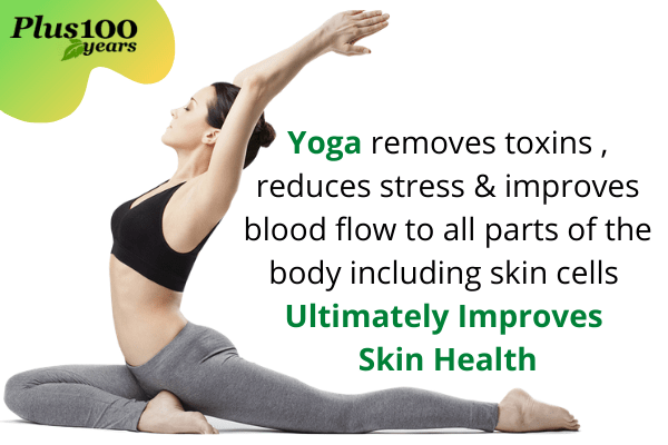 Yoga for fair skin